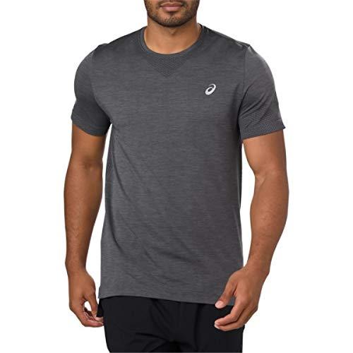 (アシックス) ASICS メンズ ランニングウォーキング トップス Seamless Short Sleeve T-Shirt [並行輸入品] B07GDLGGRZ Large