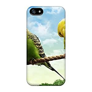 Iphone Case - Tpu Case Protective For Iphone 5/5s- Love Birds On A Rope