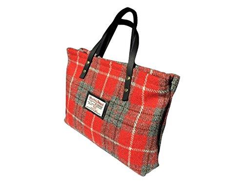 Harris Tweed Da Donna Runner Bag - Design hollandais à carreaux fabriqué à la main en Écosse - Livraison gratuite au Royaume-Uni