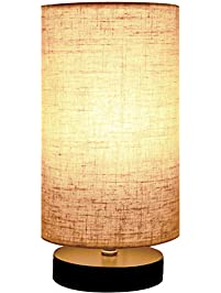 minerva wood table lamp - Table Lamps