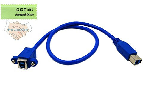USB 3.0 A Male to Female Extension Cable Cord (Blue) - 4