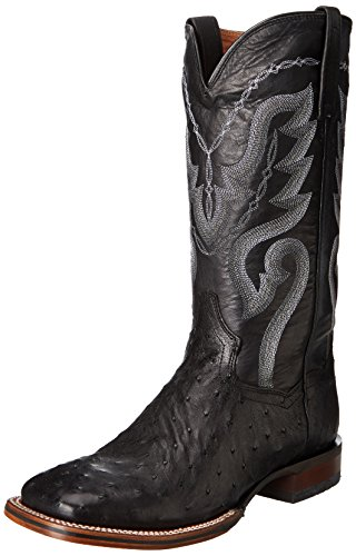 Dan Post Men's Chandler Western Boot,Black,12 D US