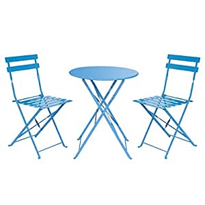 hollyland HM-HP012 Folding Furniture Sets, Blue