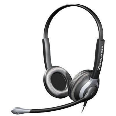 Sennheiser Binaural Headset with Xl Ear Cap