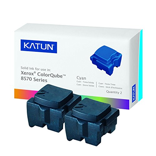 Katun 39395 Compatible Solid Ink Sticks for Xerox ColorQube Printers, Cyan