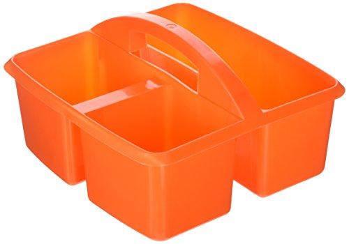 Colored Caddy - Small Utility Caddy Orange By Romanoff Products by Carson-Dellosa