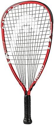 HEAD MX Fire 190 Beginners Racquetball Racket - Pre-Strung Head Light Balance Racquet