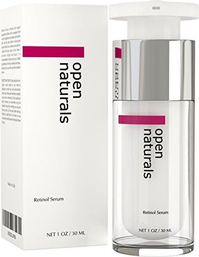 Open Naturals Retinol Serum - Best Treatment for Pigmentation, Acne and...