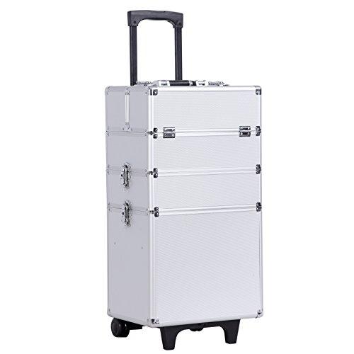 Songmics® trolley make up Beauty Case Nail Art Valigia Cofanetto Porta Gioie Smalti Oggetti JHZ01S