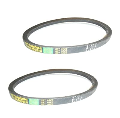 Set of 2 Replacement Stair Crawler Belts for Appliance Dollie Stair Climbers