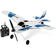 Top Race Remote Control Airplane, 3 Channel RC Airplane Aircraft Built in 6 Axis Gyro System Super Easy to Fly RTF (TR-C285)