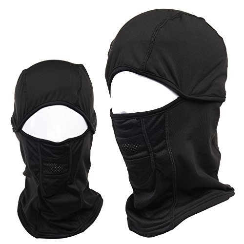 WEANAS Thermal Balaclava Sports Face Mask, Windproof Warm, for Motorcycling, Skiing, Cycling, Running, Hiking, Snowboarding - The Snow Running In
