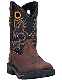 Boys' Ridge Runner Western Boot Wide Square Toe - Dpc2690