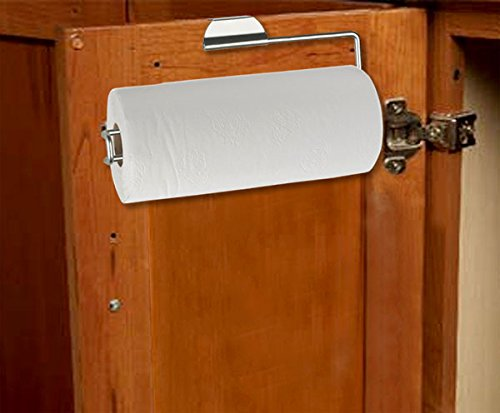 Home Basics Over the Cabinet Paper Towel Holder