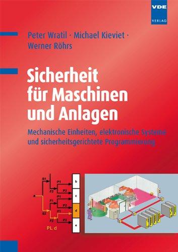 Sicherheit für Maschinen und Anlagen: Mechanische Einheiten, elektronische Systeme und sicherheitsgerichtete Programmierung