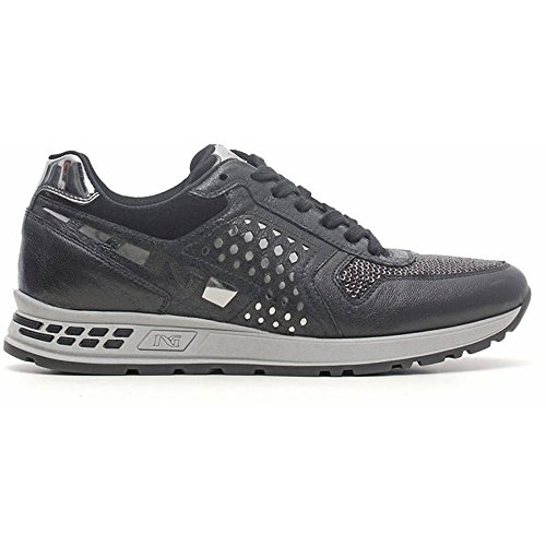 Sneaker mujer gris a616192d-105 – Negro Jardines