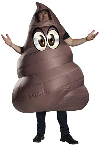Rubie's Unisex-Adult's Standard Poop Inflatable Costume, as as Shown, Standard -
