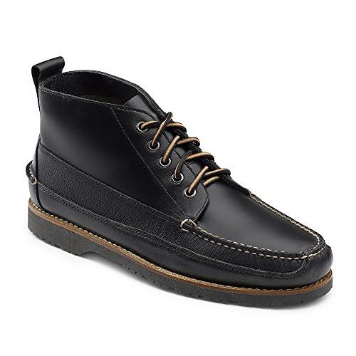 G.H. Bass & Co. Men's Scott Chukka Boot, Black, 8 M - Nashville Warehouse Mens