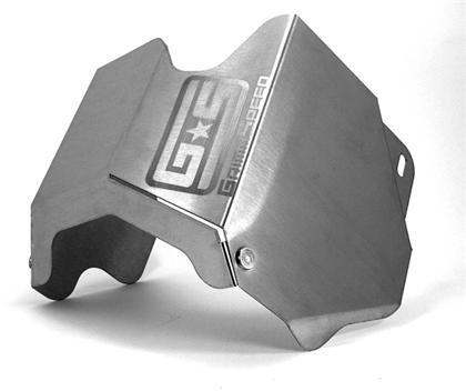GrimmSpeed 02-10 WRX/STi Stainless Steel Turbo Heat Shield w/ Black Ceramic Coating