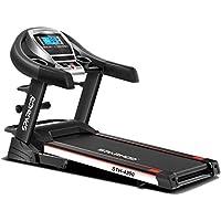 Sparnod Fitness STH-4200 (4.5 HP Peak) Automatic Treadmill (Free Installation Service) - Foldable Motorized Walking…