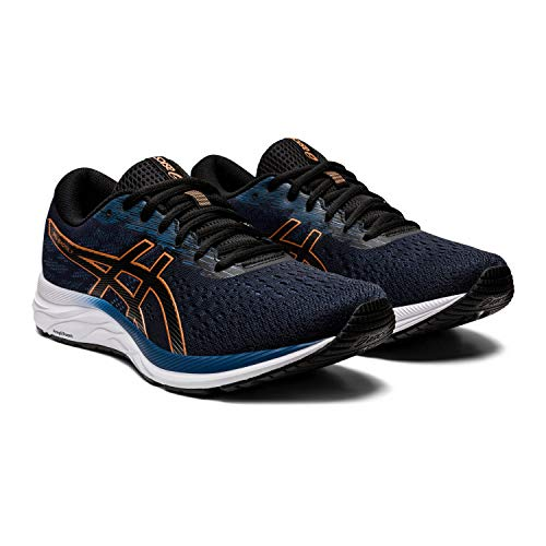 ASICS Mens Gel-Excite 7 Running Shoe, Black/Pure Bronze, Size 9