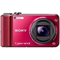 Sony Cyber-Shot DSC-H70 16.1 MP Digital Still Camera with 10x Wide-Angle Optical Zoom G Lens and 3.0-inch LCD (Red) Noticeable Review Image
