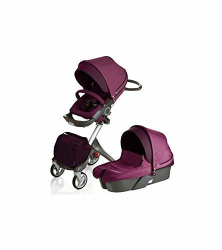 Stokke Xplory Newborn Stroller (Purple ) by Stokke