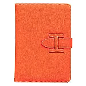 conseguir Patrón de cuerpo completo del caso Lichi PU cuero protector con el soporte y la ranura para tarjeta para el mini iPad (colores surtidos) , Rose