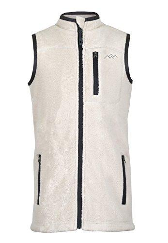Zip Front Fleece Vest - 1
