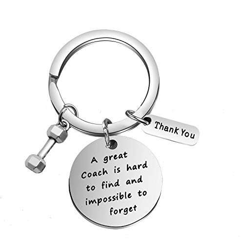 FOTAP Fitness Trainer Gift Bodybuilding Gift Fitness Coach Keychain Thank You Gift for Personal Trainer (Fitness Coach)