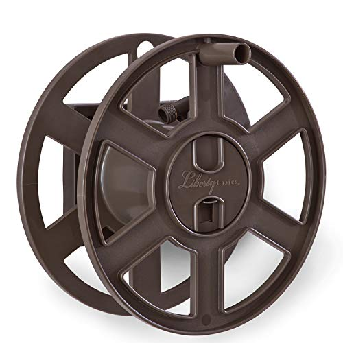 (Liberty Basics 510 Wall Mount Hose Reel, Bronze)