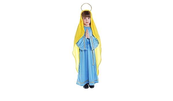 Disfraz de la Virgen Maria para Navidad: Amazon.es: Juguetes y juegos