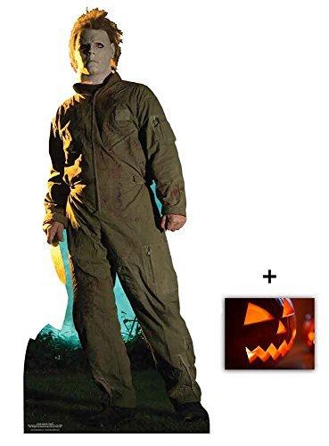Fan Pack - Michael Myers Halloween Classic Pose Lifesize Cardboard 2D Standup / Cutout Plus 20x25cm Photo by BundleZ-4-FanZ Fan Packs by Starstills by BundleZ-4-FanZ Fan Packs by Starstills