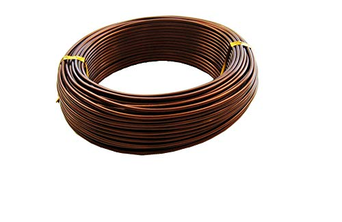 U-nitt Bonsai Tree Coaching Wires: 250-gram Roll: 2.0mm/95ft