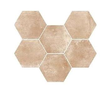 Ragno epoca rosa 21x18 2 cm r55q piastrelle pavimenti rivestimeni in