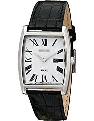 Seiko 精工SUT891男士光动能正装手表 Dress-Solar Classic Strap Watch$94.76