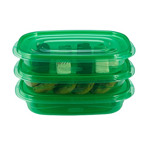 Rubbermaid TakeAlongs Food Storage Containers 4 Cup Set of 6