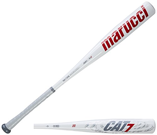 "Marucci MCBC7 Cat7 BBCOR Baseball Bat, 32""/29 oz"