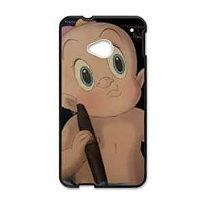 HTC One M7 Cell Phone Case Black Who Framed Roger Rabbit Character Baby Herman pefi