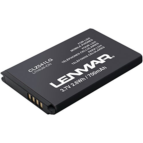 LG Cosmos 2 and LG V251 Battery Replacement for OEM BL-46CN, ML-LG137 by Lenmar by Lenmar