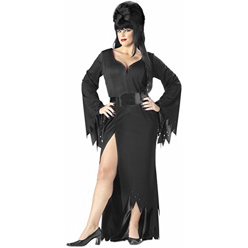 [Elvira Costume - Queen - Dress Size 18-20] (Halloween Costumes Elvira)