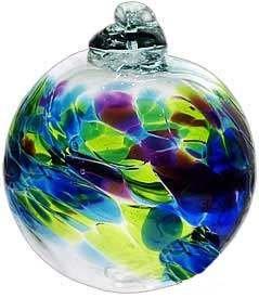 September Mini Birthday Wish Birthstone Hanging Ornament Ball 2