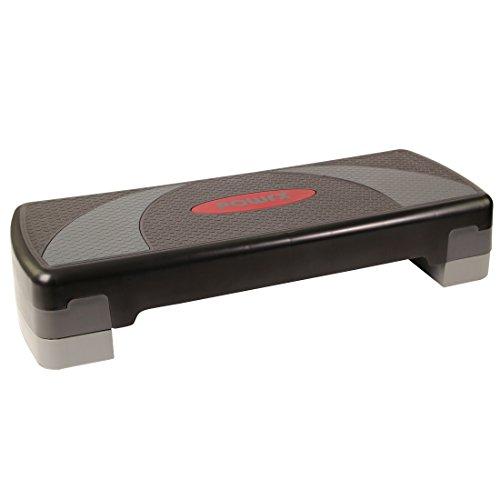Steppbrett Home Aerobic XL Premium Fitness Step Stepper 3 - Stufen höhenverstellbar