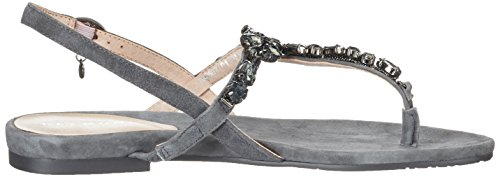 Belmondo Sandalen-damen - Tira de tobillo Mujer Gris (Antracite)