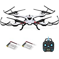 Goolsky JJR/C H31 2.4G 4CH 6-Axis Gyro Drone Headless Mode One Key Return Waterproof RC Quadcopter with One Extra Battery