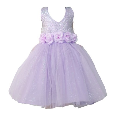 Cinda Cinda Girls Evening Dress Lilac 6-7 Years Lilac 6-7 Years (Evening 2011 Dress)
