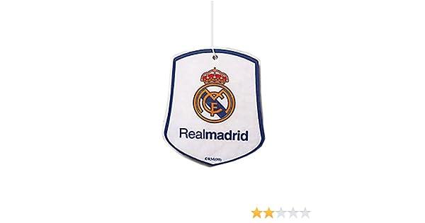 Real Madrid CF - Ambientador del coche con escudo del equipo ...