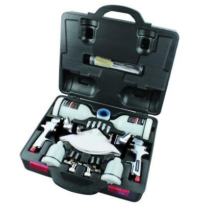 Husky HVLP and Standard Gravity Feed Spray Gun Kit ()