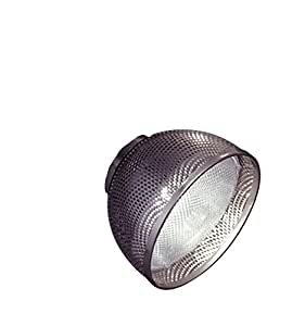 PLC Lighting TR205 SN Track Lighting Lamp Shade Comet-I Collection, Satin Nickel Finish