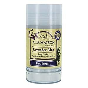 A La Maison Deodorant, Lavender, 2.4 Ounce
